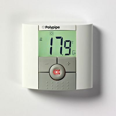 Polypipe digital room thermostat for underfloor heating. PBDIG