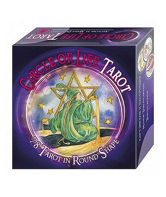 The tarot of circle life, 78 cards round and inscruction