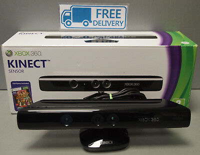 Microsoft Xbox 360 Kinect Sensor Bar in Black Model 1473 Boxed