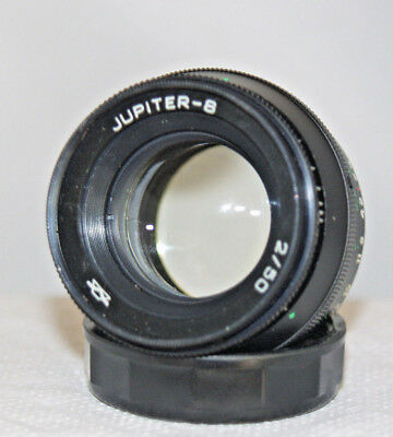 Jupiter-8 2/50mm M39 Russian Prime Lens