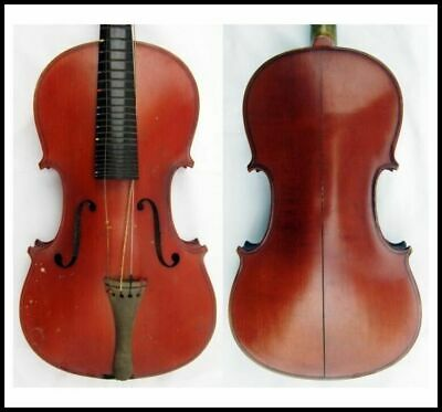 Fine Old French 4/4 Violin Labeled Mamby Violins Exact Copy  Stradivarius c1900