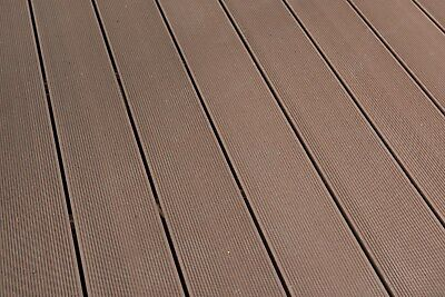 2.2m WPC Wood Plastic Composite Hollow Decking Boards in COFFEE YARD STOCK SALE
