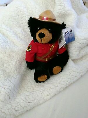Royal Canadian mounted police official licensed bear
