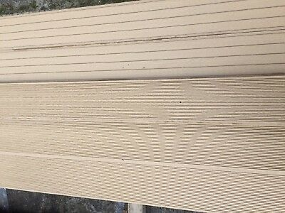 2.2m WPC Wood Plastic Composite Hollow Decking Boards in SANDALWOOD YARD SALE