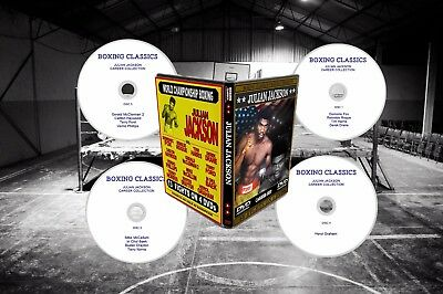 Julian Jackson Boxing DVD Career Collection
