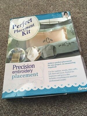 Embroidery Placement Kit. Machine Embroidery Kit For Placement