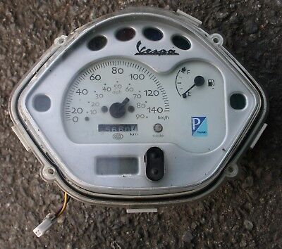 Piaggio Vespa Lx 125 2006 06 Speedo Clocks Speedo Meter Dash Dials Clocks