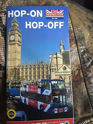 London tour Hop on Hop off bus Original Tour (5 tickets available)