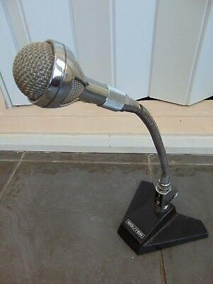 VINTAGE 1970s BOUYER CHROMED METAL FLEXIBLE MICROPHONE MODEL 709