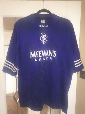 Glasgow Rangers Vintage Adidas top XXL-2XL excellent condition 9 in a row