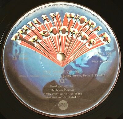 """Q - The Voice Of Q 12"""" - 1982 Uk Philly World  Pwsl 106 - Electro Funk"""