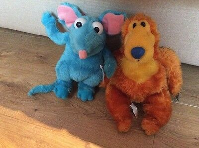 Jim Henson's Bear In The Big Blue House Soft Toy Bundle Tutter & Bear