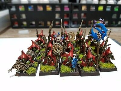 Warhammer Age of Sigmar 20x Night Goblins Moonclan Grots