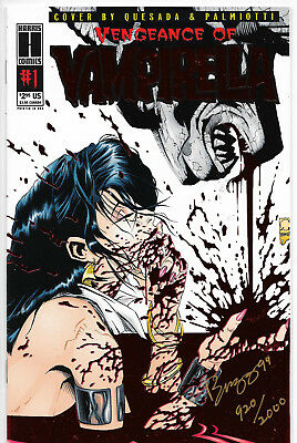 Vengeance Of Vampirella #1 Special Edition Signed By Buzz + Art Print NM-