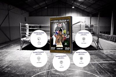 Herol Graham Boxing DVD Career Collection
