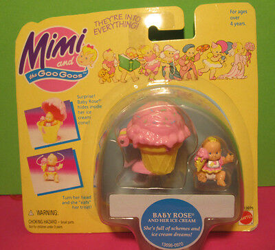 Polly Pocket Mini NEU ♥ Mimi & the Goo Goos ♥ Ice Cream ♥ NEW ♥ OVP ♥