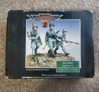 Warriors in Scale1:32 Scale54mm Caporetto 1917 Austro-Hungarian Resin Figures