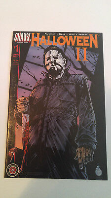 Halloween II The Blackest Eyes (2001) #1A Orange VF/NM Limited to 3,000 copies!