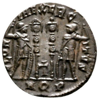 CONSTANTINE II (330-335 AD) Extremely Rare Follis. Aquileia #RA 9333