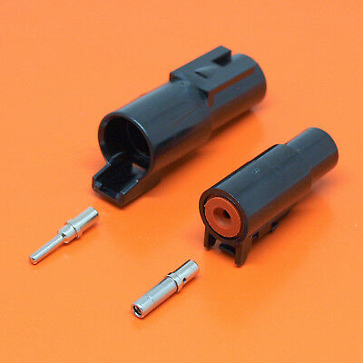 Deutsch DTHD Series 1 Pin Way Connector Male & Female DTHD04-1-12P DTHD06-1-12S