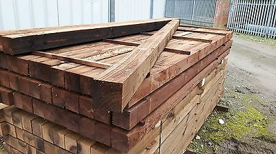 4x4 8ft Fence post (100mmx100mm 2400mm long) Gate Post, Wood, Timber