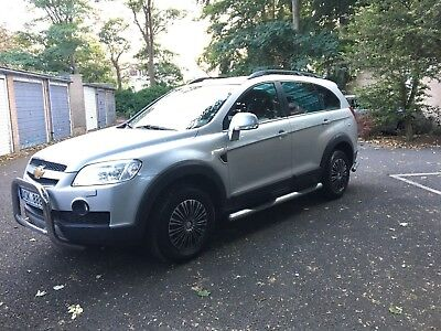 Left Hand Drive Chevrolet Captiva 3.2 Silver Automatic, One Owner / Low Millage