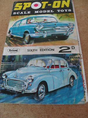 TRIANG SPOT ON MODEL TOY CATALOGUE 1965 UK 6th EDITION NEAR EXCELLENT CONDITION