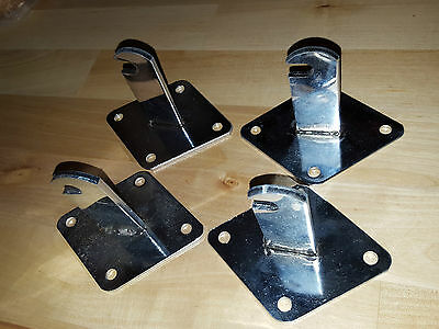 Mesh Gridwall Wall Mounting Hooks X 4 - Shop Fitting Display