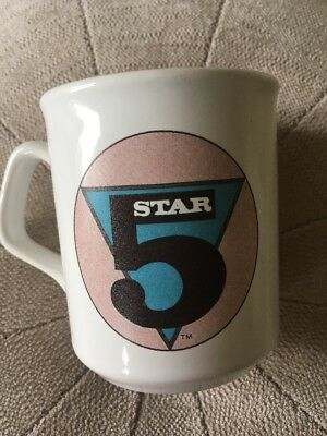 Five Star 5 Star Rare Fan Club Mug