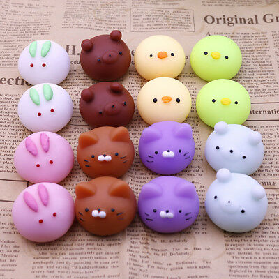 Rubber Anti Stress Relief Squeeze Ball Reliever Toy Small Animal Autism Mood Toy