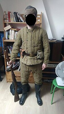 tenue sovietique telogreika ww2