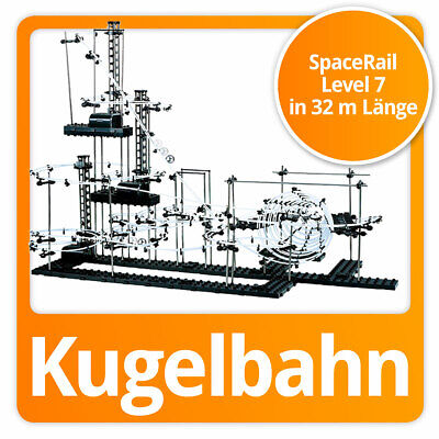 SpaceRail Kugelbahn moderne Space Rail Murmelbahn Spacewarp Level 7 (32 Meter)