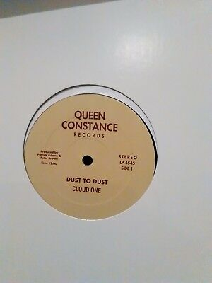 """Cloud One - Dust To Dust / Doin It All Night Long - Queen Constance 12"""" reissue"""
