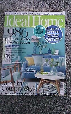 Ideal Home Magazine  July 2016
