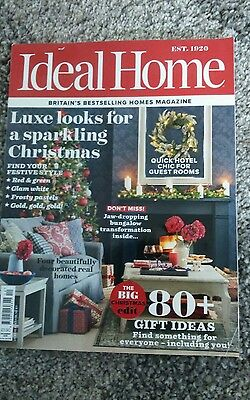 Ideal Home Magazine  December 2016
