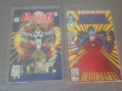Punisher 2099 issue 1 & Darkhawk issue 25