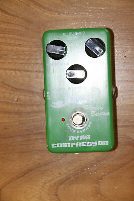 Dynamic Compressor  Guitar Effects Pedal True Bypass