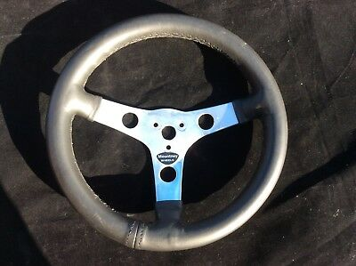 Mountney Kart steering wheel historic 70's Barlotti Zip