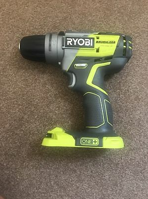 New Ryobi R18PDBL-0 One+ 18V Brushless Percussion Drill Body Only