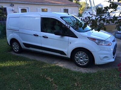 2014 Ford Transit Connect White 2014 Ford Transit Connect XLT