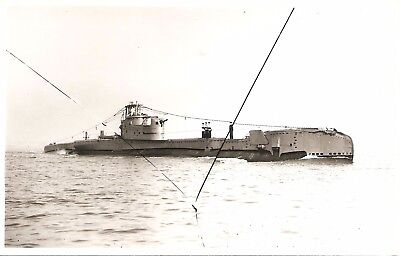 WRIGHT & LOGAN PHOTO,   HMS THULE,  P325,  1951,  'T'  class Submarine