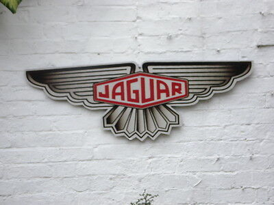 Jaguar 4ft garage sign