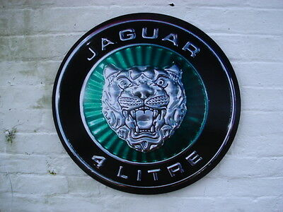 Jaguar 4litre wall plaque