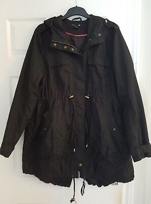 H&M Mama Maternity Jacket XL (18-22) black coat/jacket