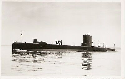 WRIGHT & LOGAN PHOTO,   HMS TIRELESS,  P327,  1958,  'T'  class Submarine