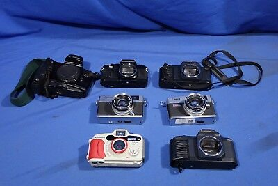 LOT of Assorted Canon Film Cameras #L2750BP