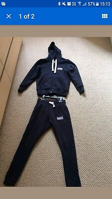 Boys Rascal Tracksuit in navy