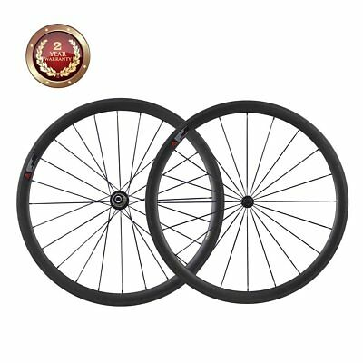 Carbon Road Bike 38mm Wheelset Clincher  (Best For: Climbing & Sprinting)