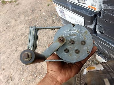 Federal Electric Co Chicago Hand Crank Air Raid Siren WWII Era Military