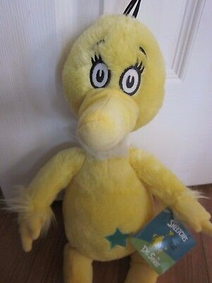 NEW Kohl's Cares Dr Seuss The Sneetches Yellow w/Green Star Belly 16 Inch Plush